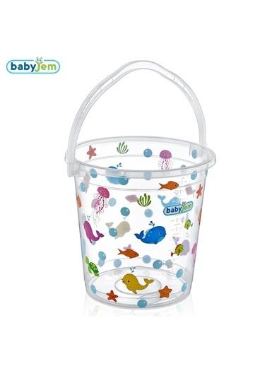 Babyjem Desenli Bebek Banyo Kovası -Baby Jem